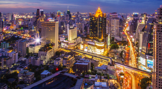 Lennot Bangkokiin 458,02€
