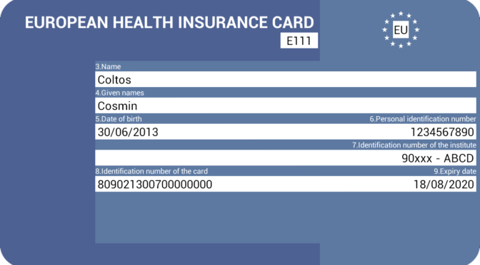 Ilmainen eurooppalainen sairaanhoitokortti