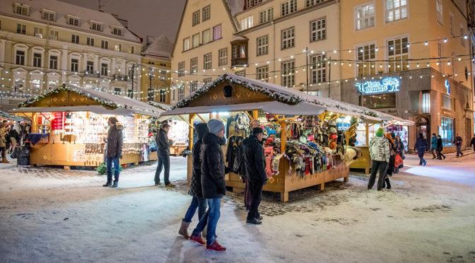 Jouluostoksille Tallinnaan 6 eurolla!