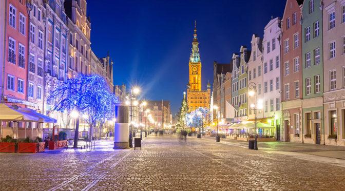 Jouluostoksille Gdanskiin 199€