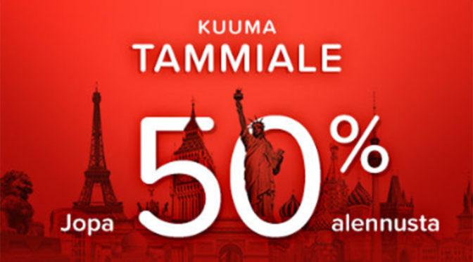 Kuuma Tammiale on alkanut!